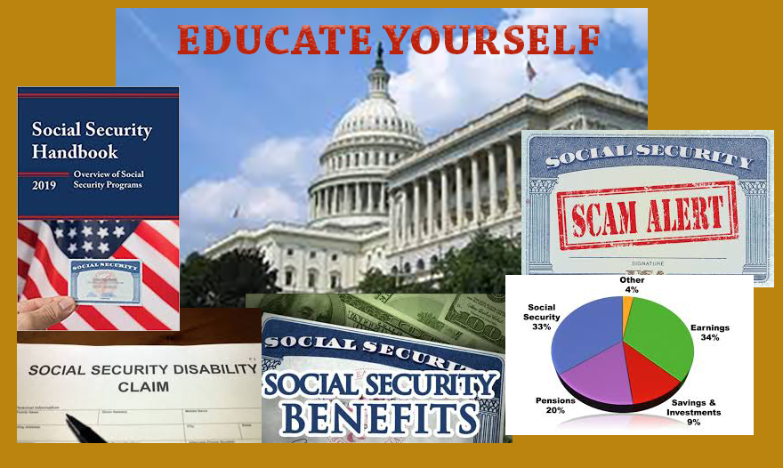 Social Security - <br/>Medicare - Medicaid