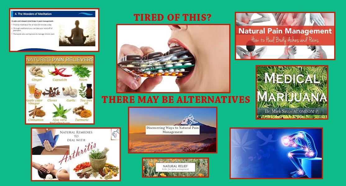 Alternative <br/>Pain Management